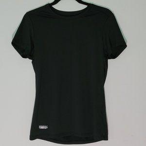 Black Under Armour COLDGEAR Athletic Shirt Men-M